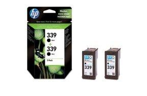 HP BLACK N.339 MULTIPACK 2 ΤΕΜ C9504E